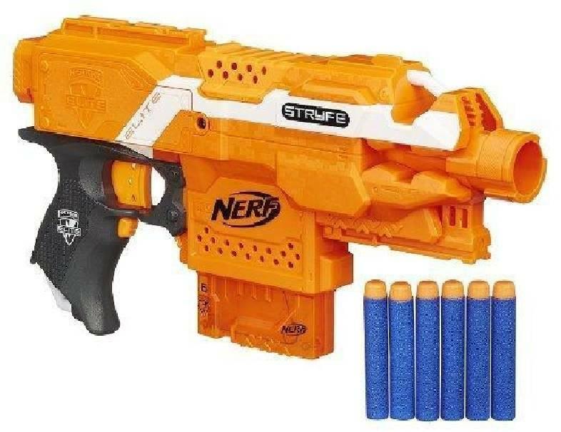 hasbro - mb hasbro - mb fucile nerf nstrike elite stryfe blaster