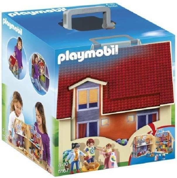 playmobil playmobil casa delle bambole portatile