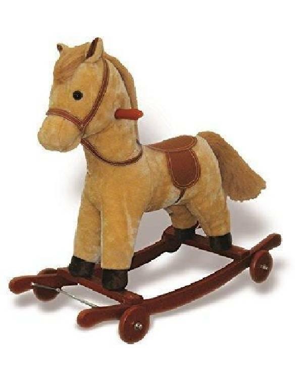 giocheria giocheria cavallo dondolo con suoni