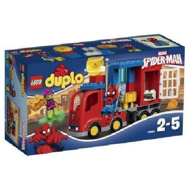 lego lego l avventura del camion di spiderman