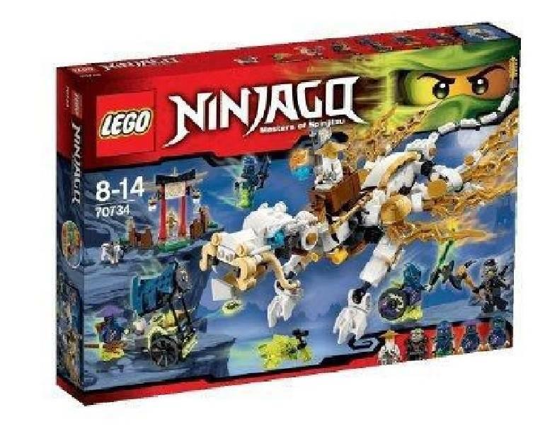 lego lego il dragone del maestro wu