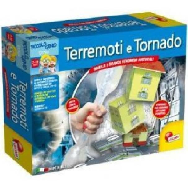 lisciani giochi lisciani giochi tornado e terremoti