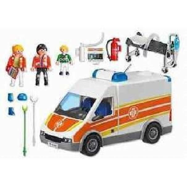 playmobil playmobil ambulanza luci e suoni