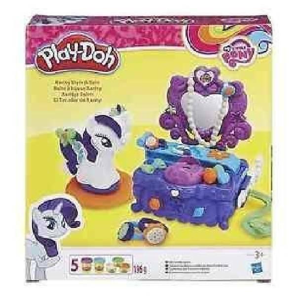 hasbro - mb hasbro - mb playdoh camerino rarity my little pony
