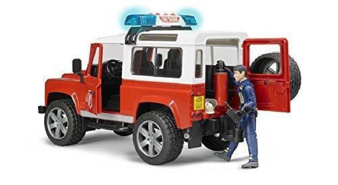 bruder bruder land rover defender station wagon pompieri