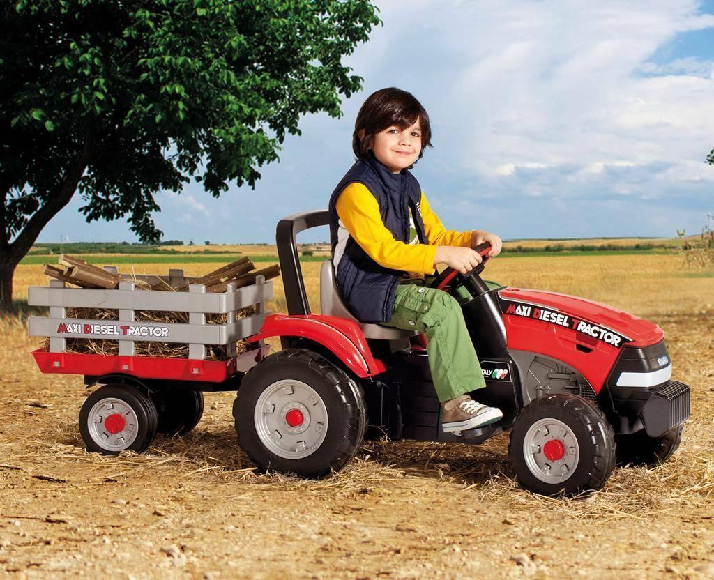 peg perego peg perego trattore maxi diesel tractor