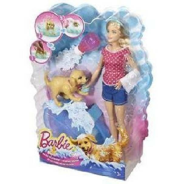 mattel mattel barbie e il bagnetto dei cuccioli