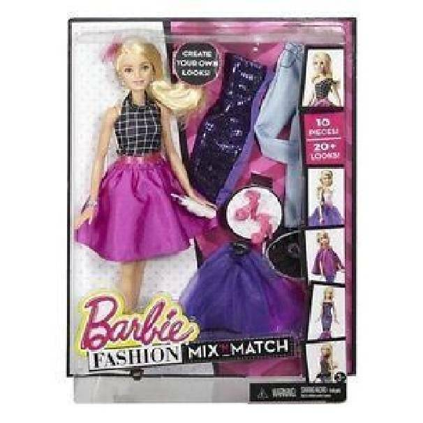 mattel mattel barbie cambia look