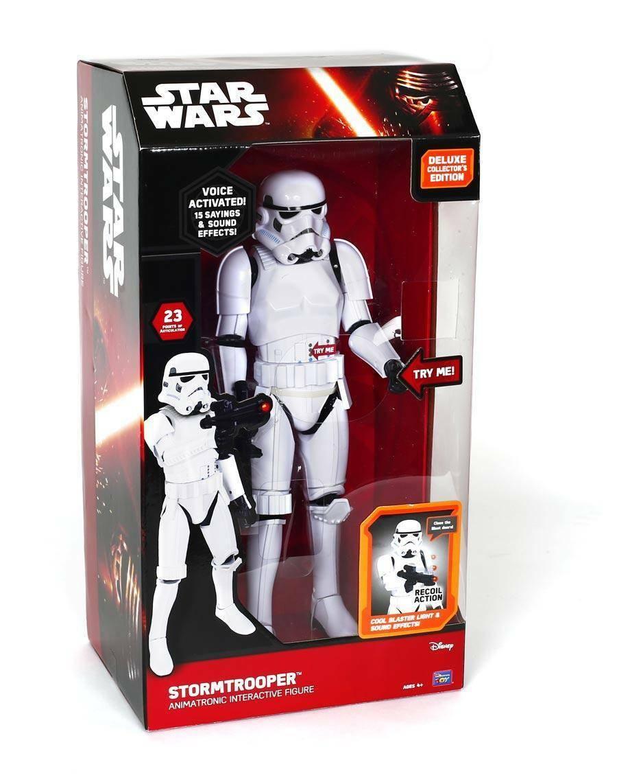 giochi preziosi giochi preziosi star wars personaggio interattivo stormtrooper