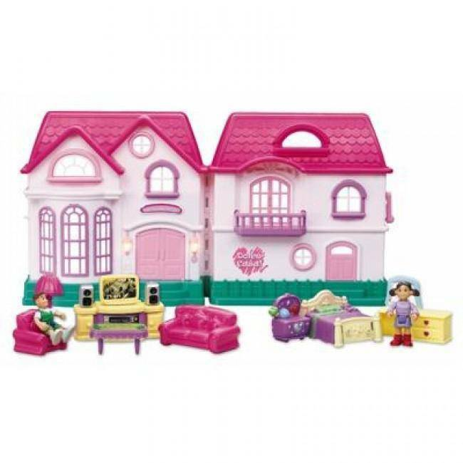 giocheria giocheria casa delle bambole con accessori