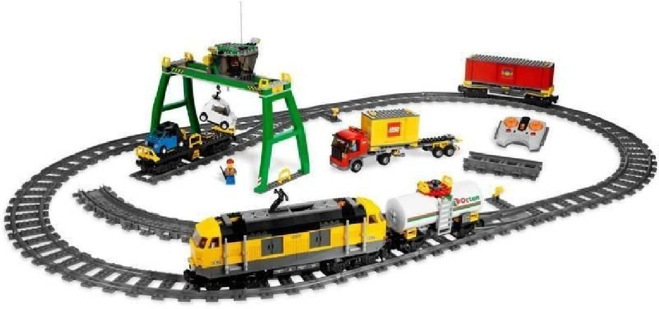 lego lego treno merci