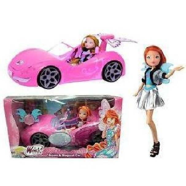 giochi preziosi giochi preziosi winx bambola bloom con auto