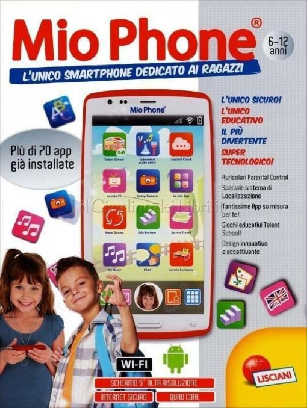 lisciani giochi lisciani giochi cellulare smartphone mio phone