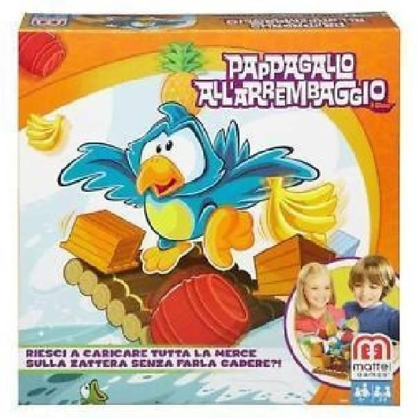 mattel mattel pappagallo all'arrembaggio