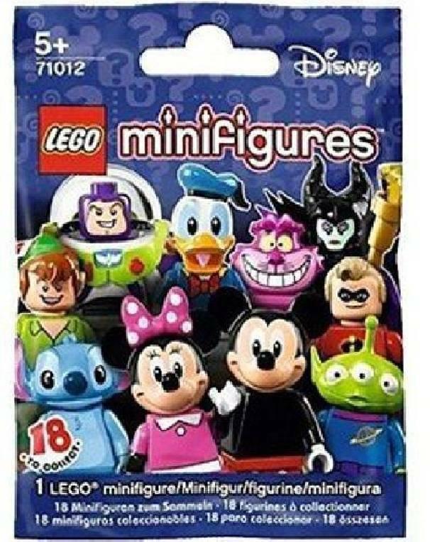 lego lego minifigures disney bustine 71012