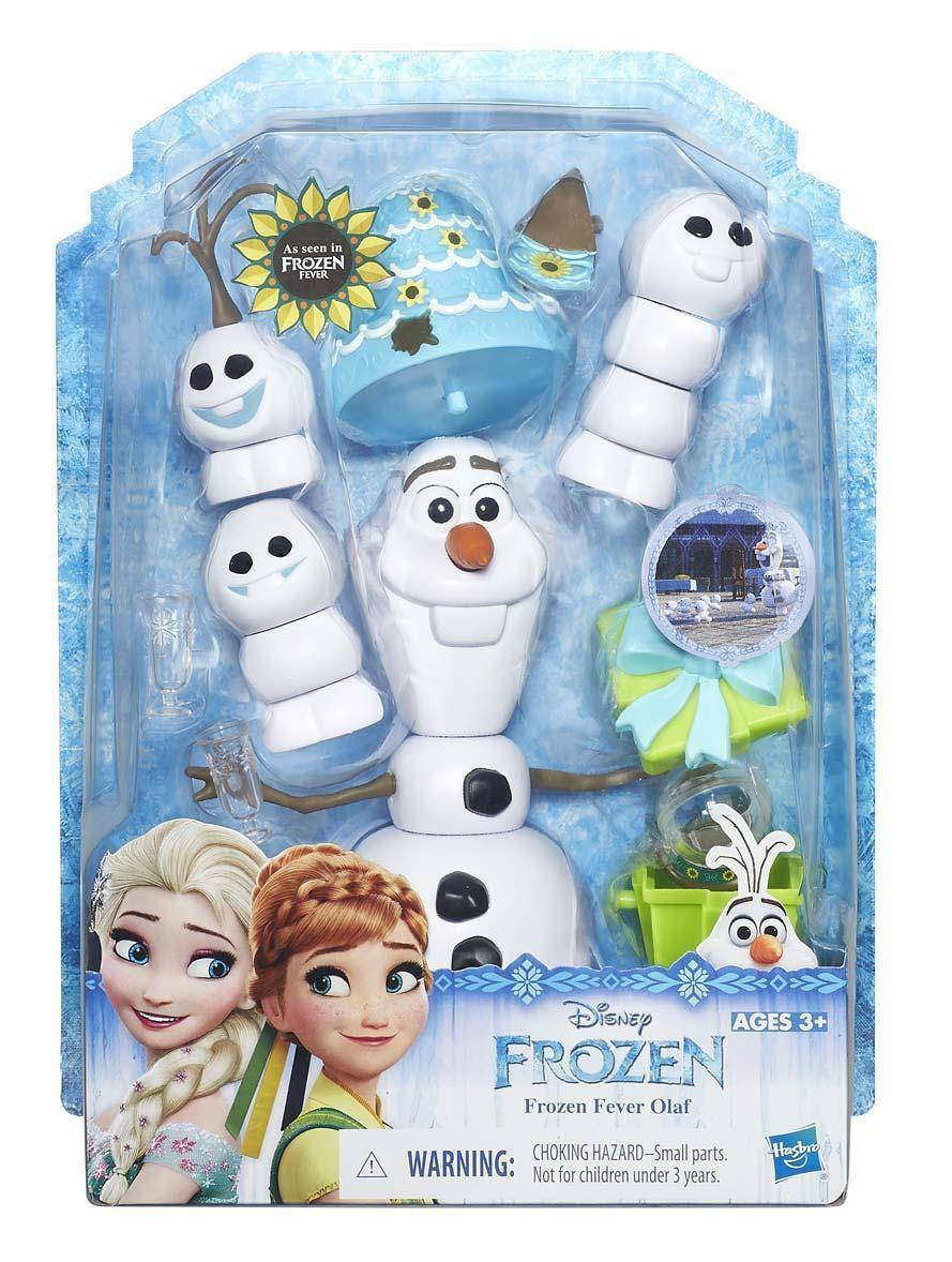 hasbro - mb hasbro - mb disney frozen olaf con accessori