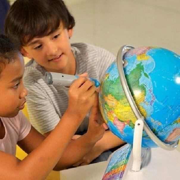 oregon scientific oregon scientific mappamondo smart globe infinity plus