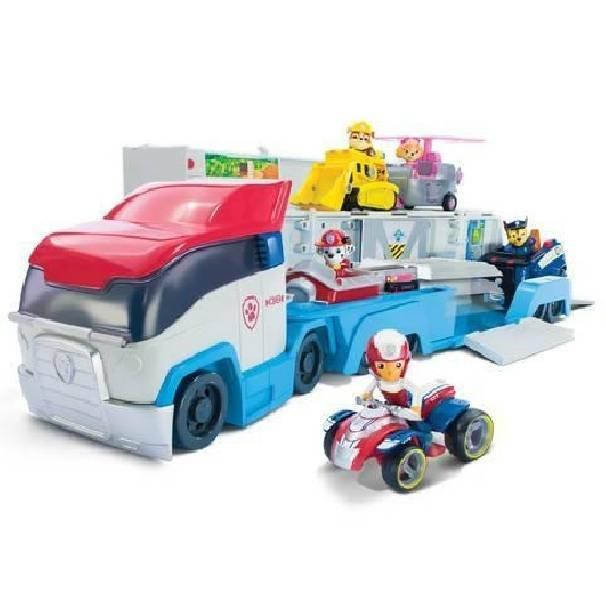 spinmaster spinmaster paw patrol camion paw patroller