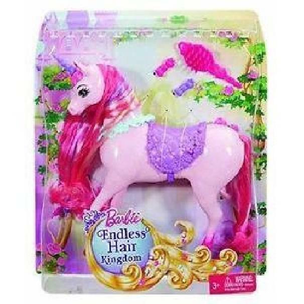 mattel mattel barbie cavallo unicorno