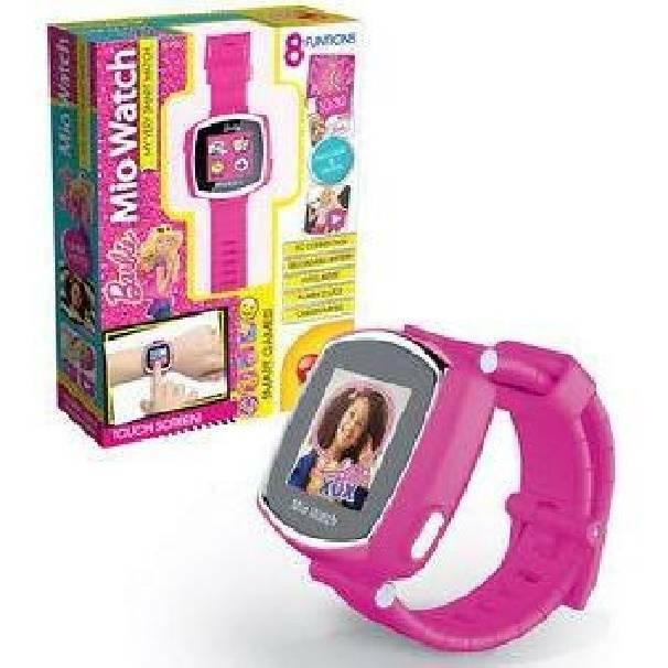 lisciani giochi lisciani giochi mio watch orologio barbie
