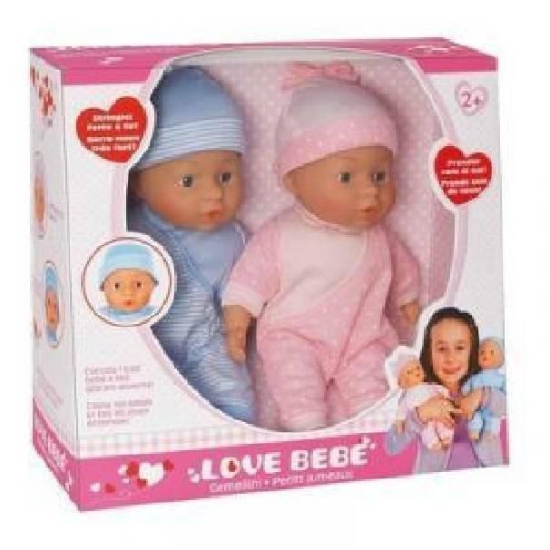 giocheria giocheria bambola gemelli love bebe