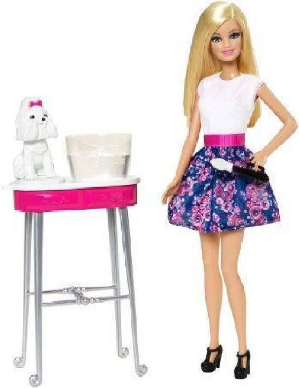 mattel mattel barbie e la toilette cuccioli