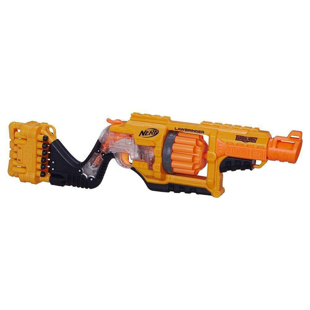 hasbro - mb hasbro - mb nerf doomlands nstrike lawbringer blaster