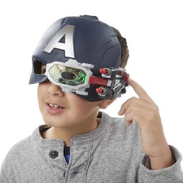 hasbro - mb hasbro - mb avengers elmetto elettronico capitan america