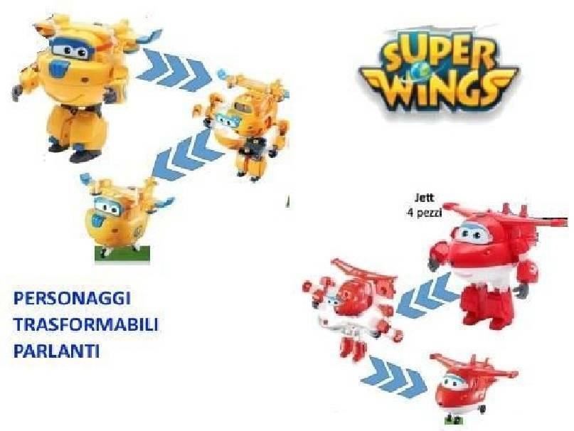 giochi preziosi giochi preziosi superwings personaggio trasformabile parlante