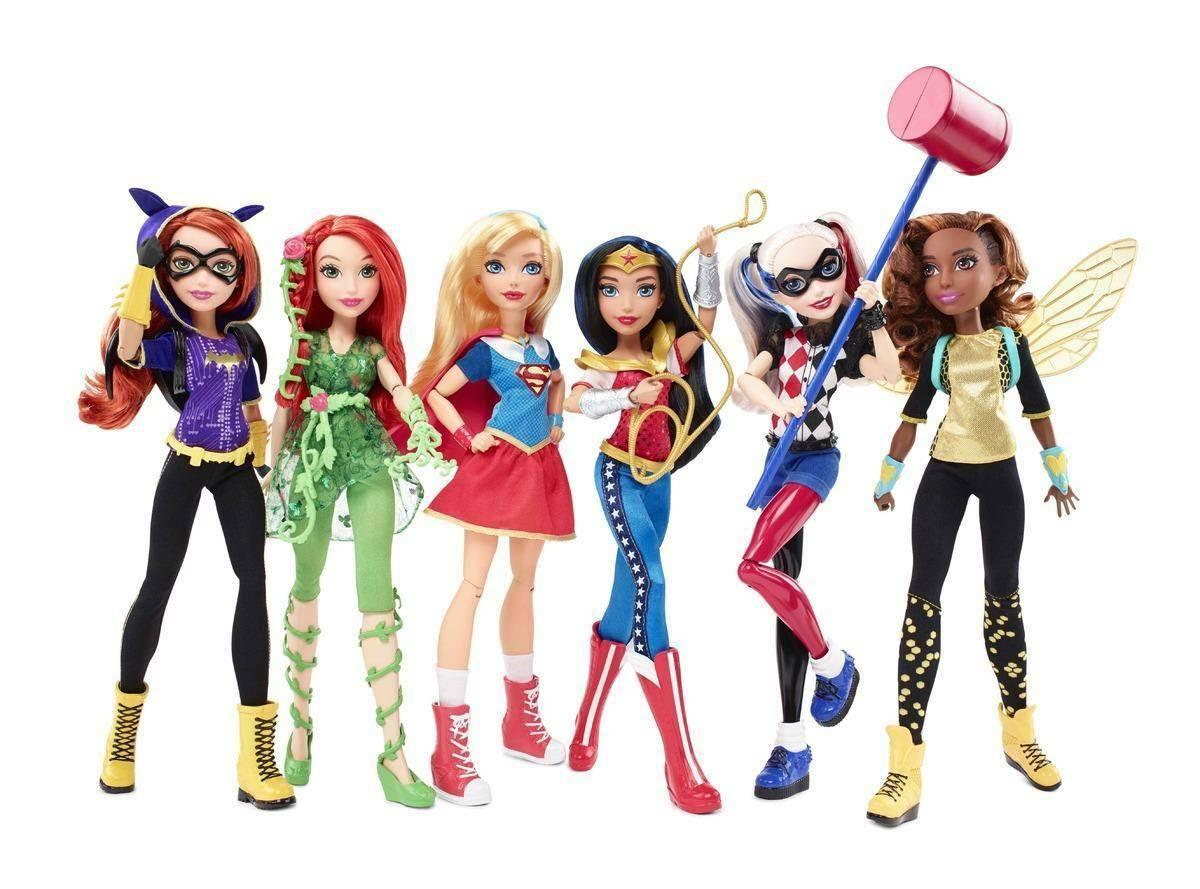 mattel mattel super hero girls