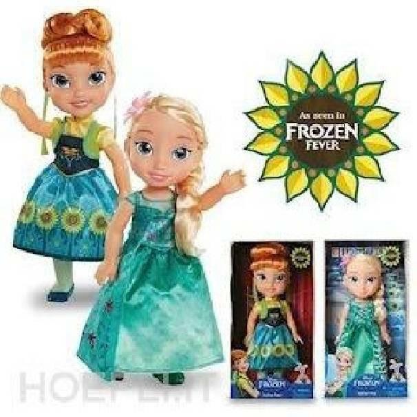 giochi preziosi giochi preziosi bambola fever frozen elsa anna toddler