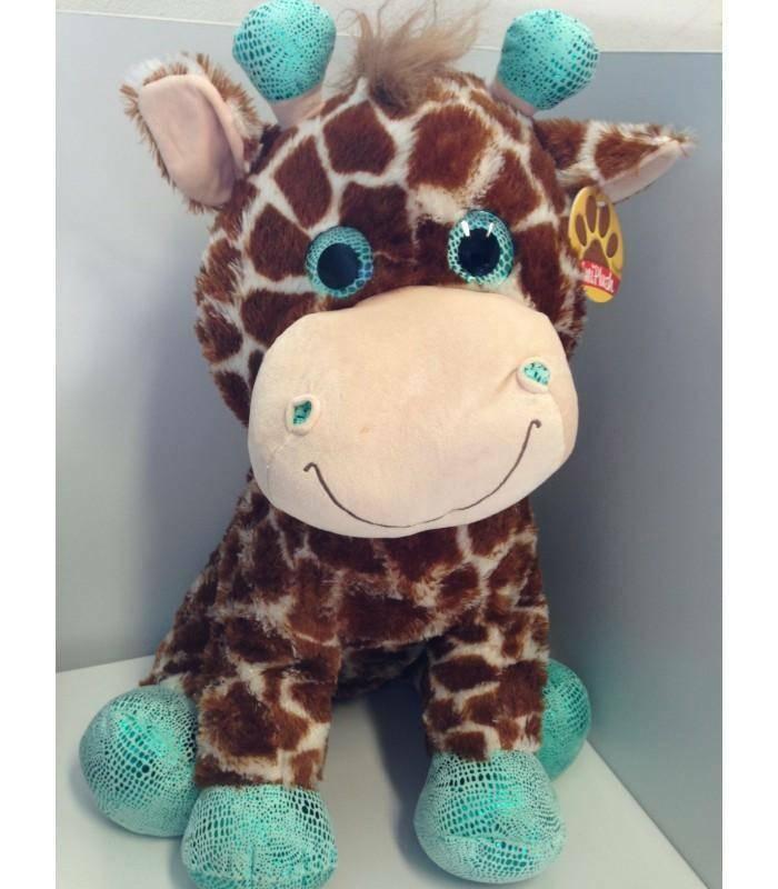 giocheria giocheria peluche giraffa o dalmata 56cm.