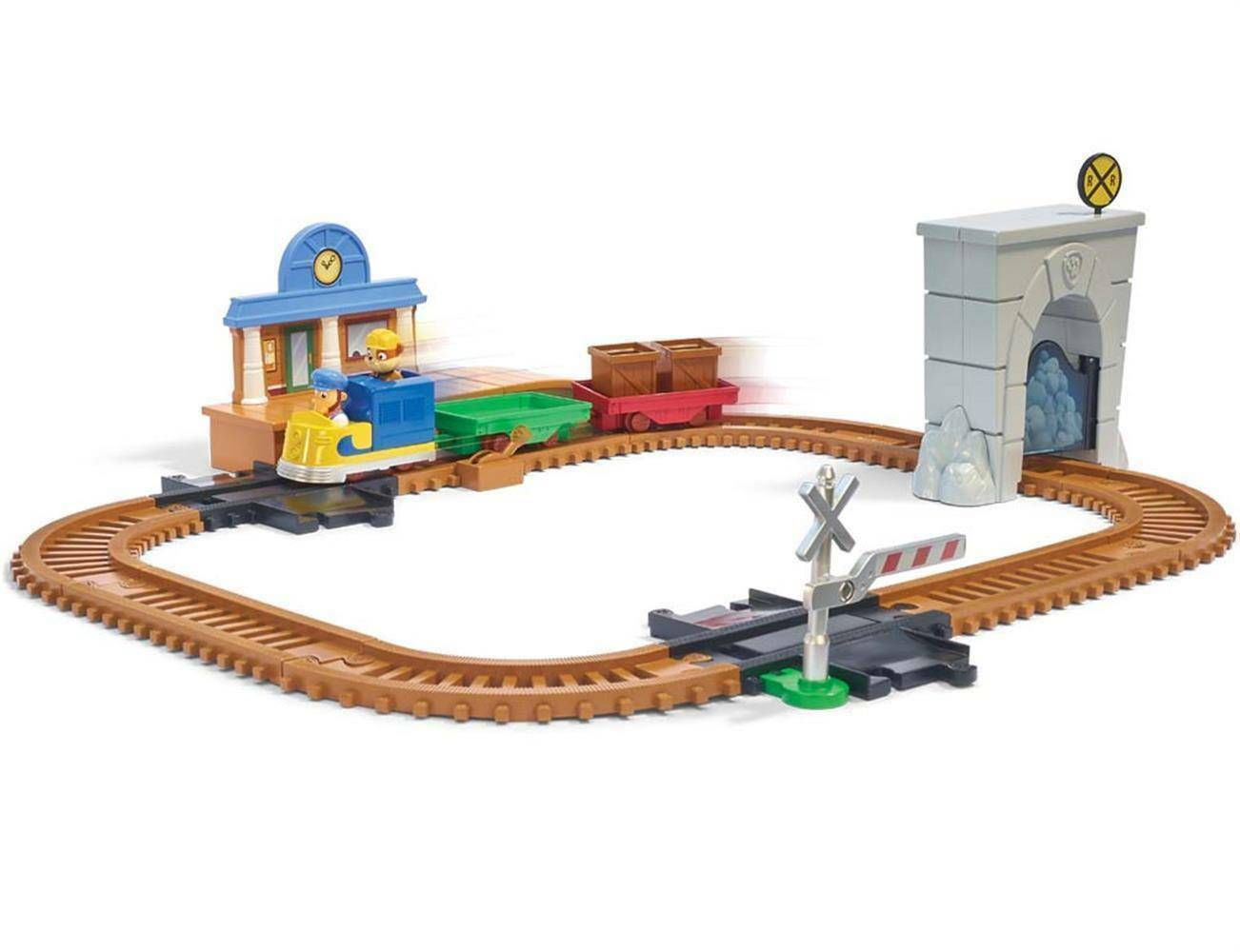 spinmaster spinmaster treno paw patrol on a roll playset