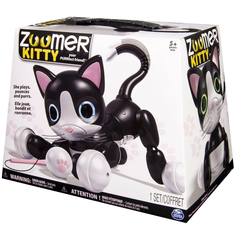 spinmaster spinmaster zoomer gatto kitty