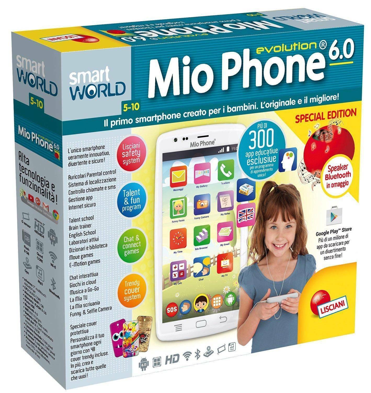 lisciani giochi lisciani giochi mio phone evolution 5 special edition