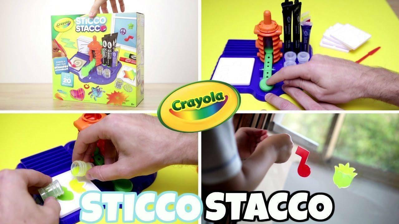 crayola crayola sticco stacco