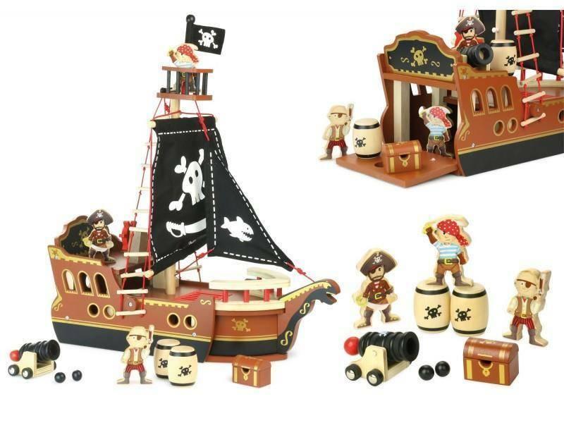vilac vilac veliero pirati legno