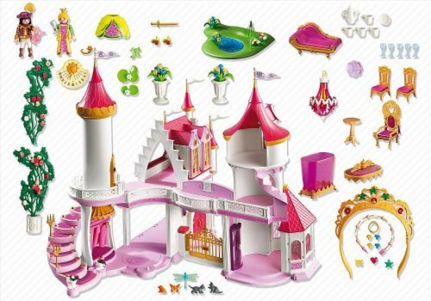 playmobil playmobil castello della principessa