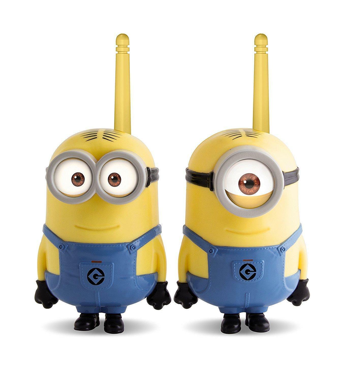 imc toys imc toys minions walkie talkie