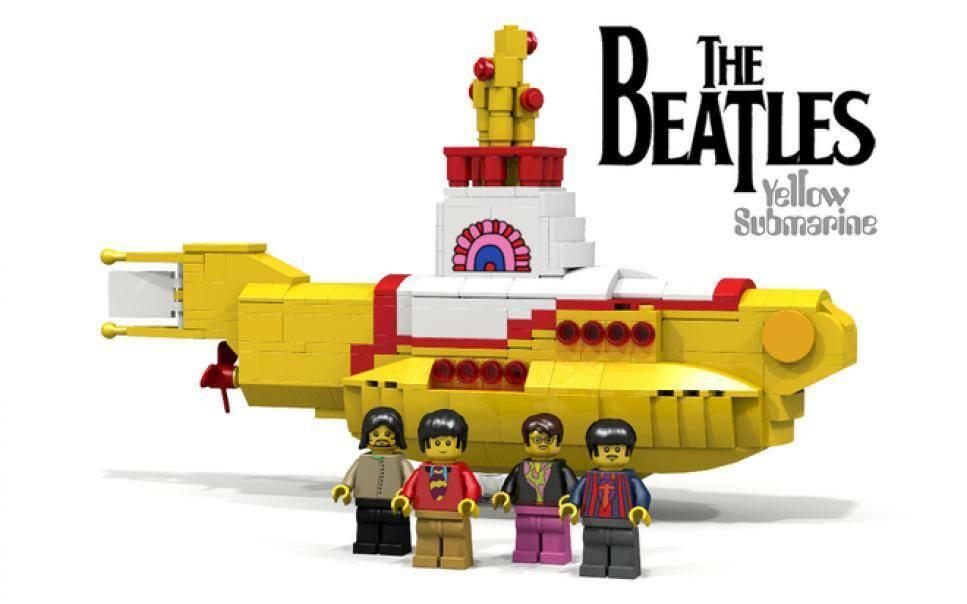 lego the beatles yellow submarine lego 21306