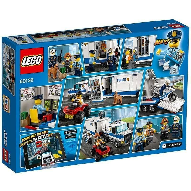 lego lego centro di comando mobile