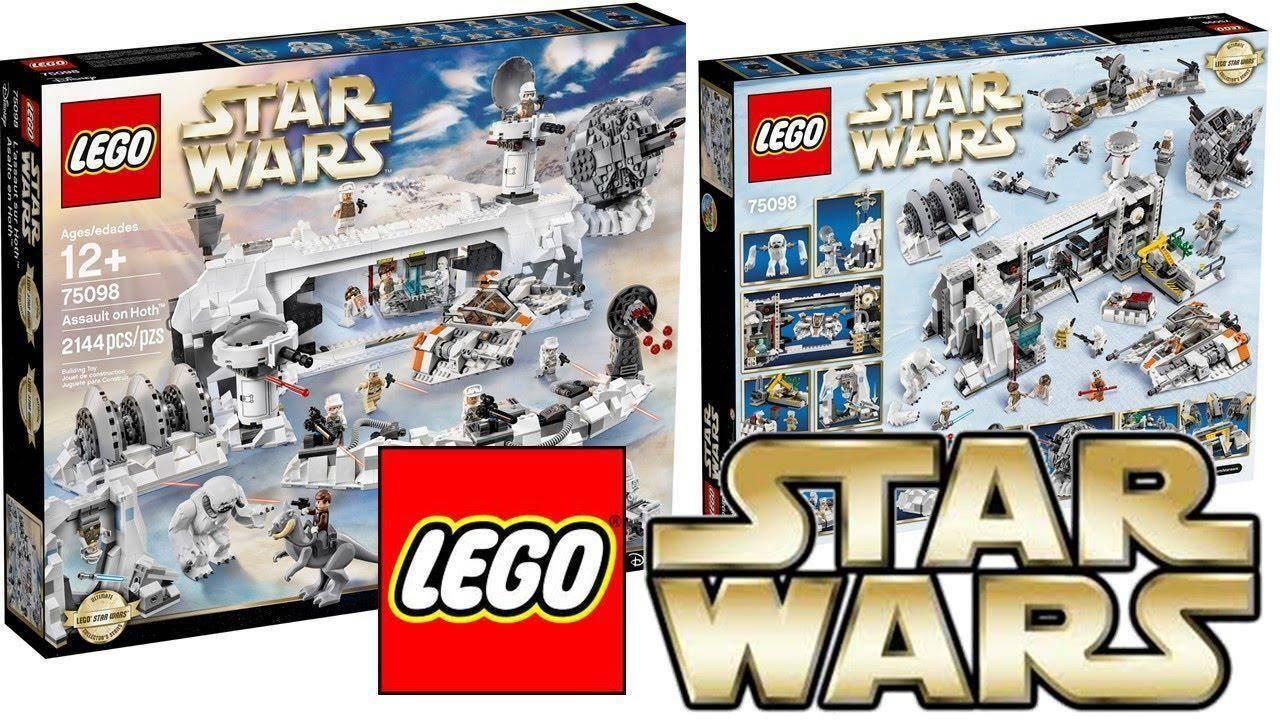 lego lego assault on hoth star wars 75098