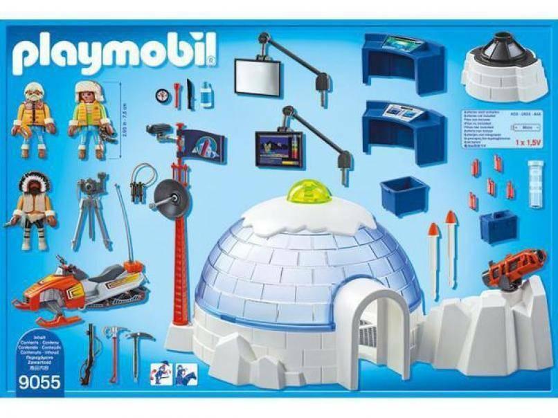 playmobil playmobil campo base degli esploratori
