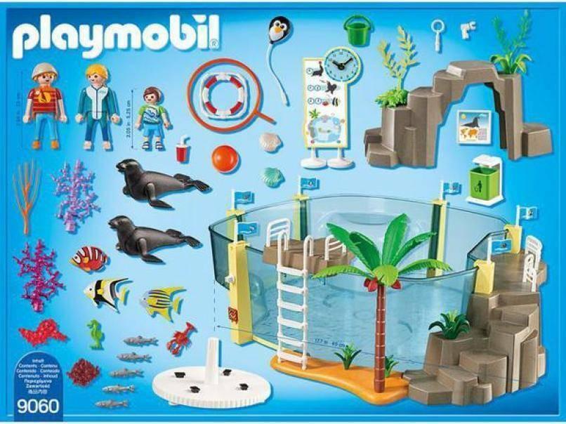 playmobil playmobil grande acquario