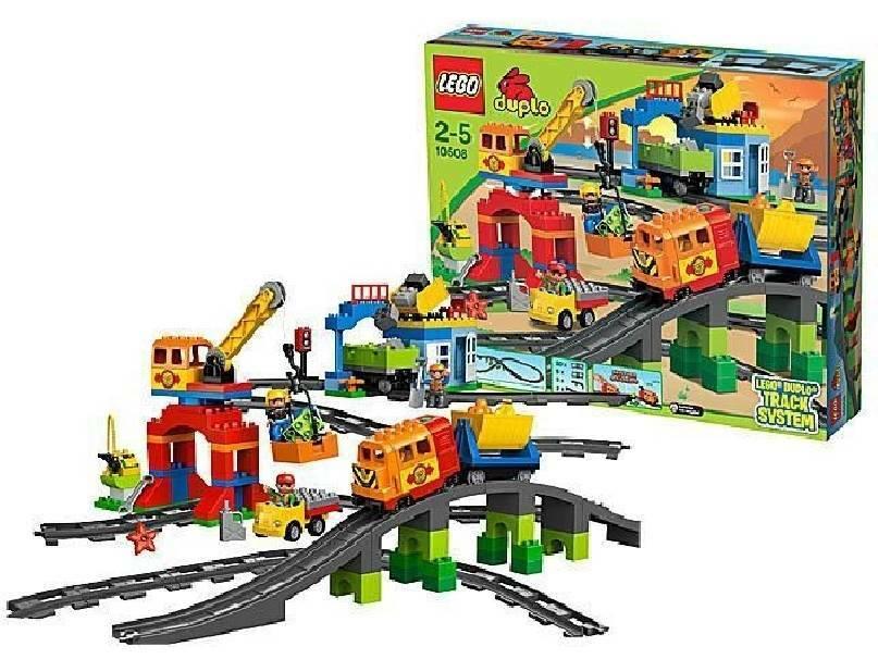 lego lego set treno deluxe
