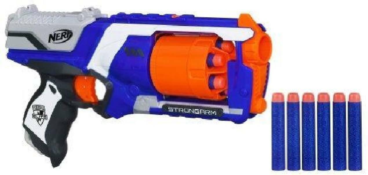 hasbro hasbro fucile nerf strongarm blaster