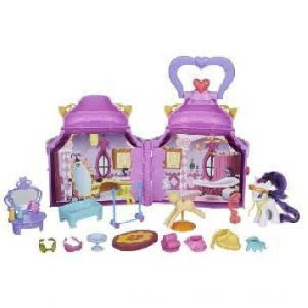 hasbro - mb hasbro - mb boutique di rarity my little pony