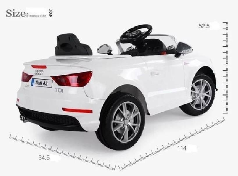 baby car baby car auto audi a3 radiocomando