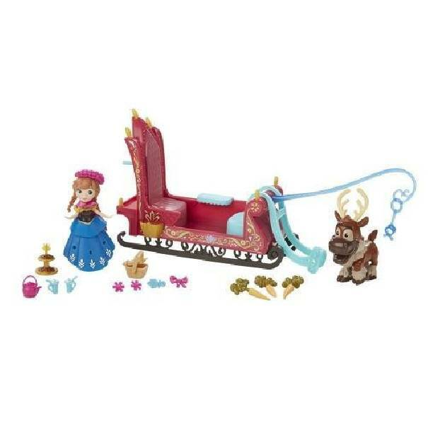 hasbro - mb hasbro - mb anna elsa frozen mini bambola disney princess