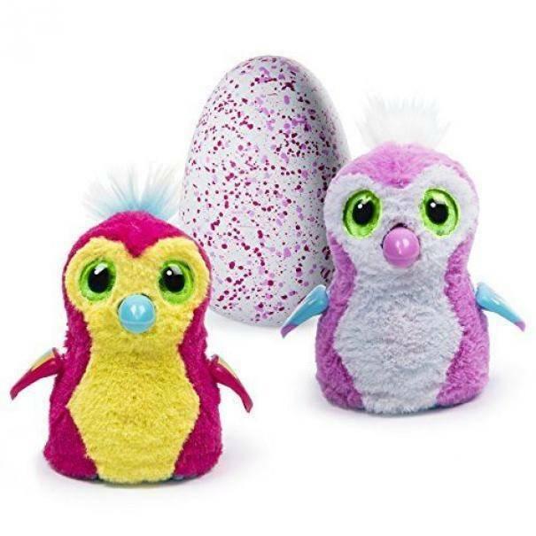 spinmaster spinmaster hatchimals uovo rosa con uccellino